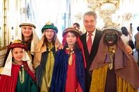 28.12.2012 Sternsinger zu Gast beim Bundespräsident